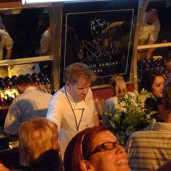Gordon Ramsay at the Grand Tasting.