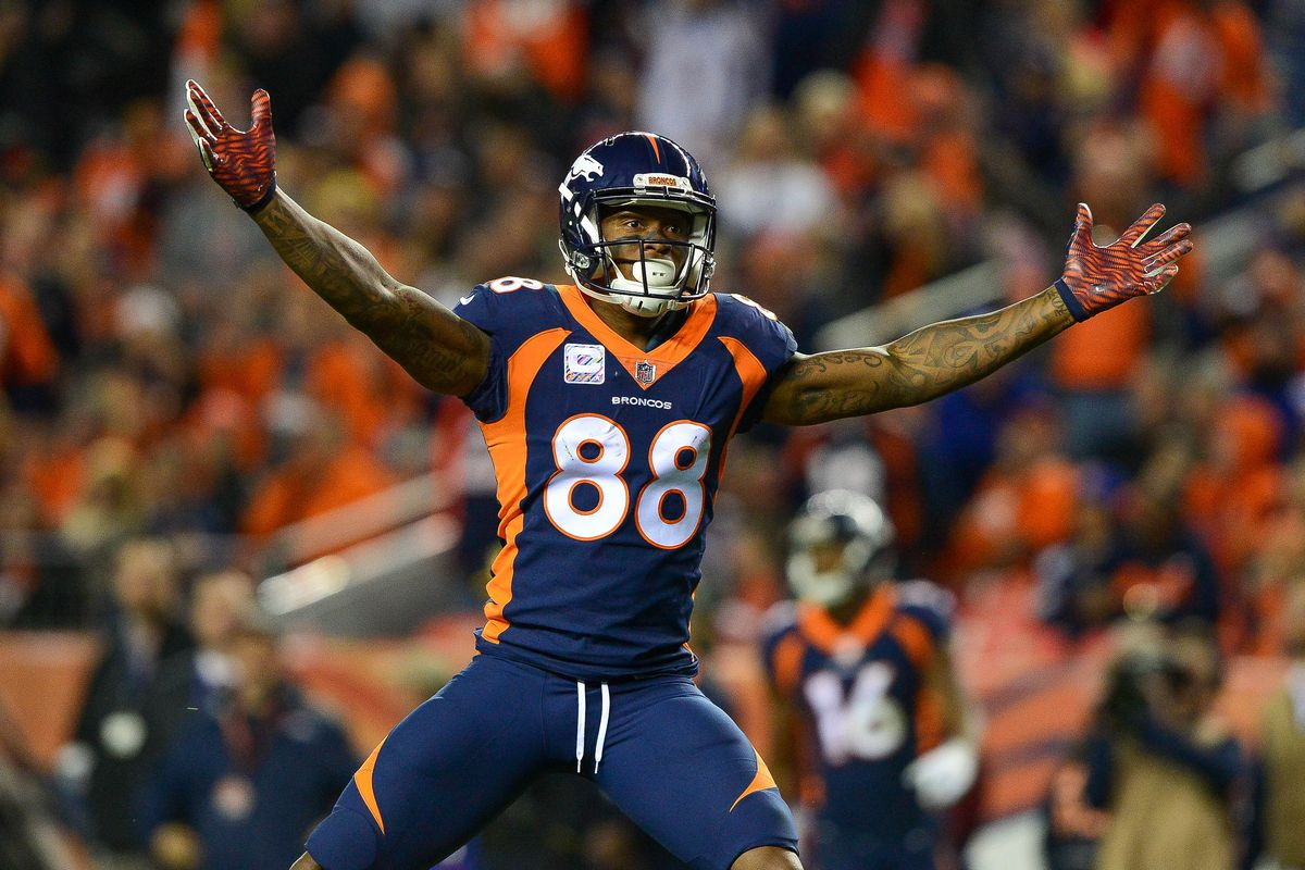 Is this the game Demaryius Thomas finally s in the end zone