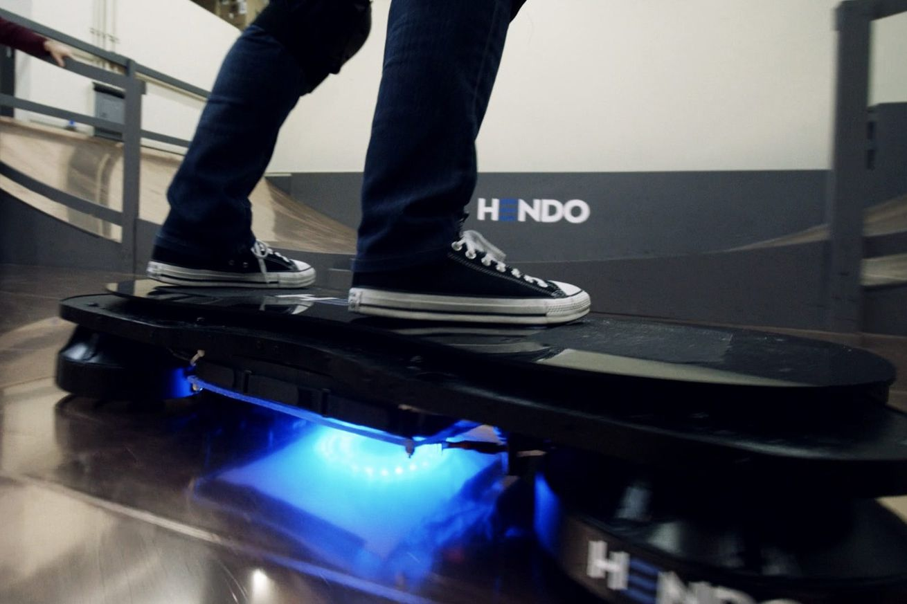 Real Working Hoverboard If It Has Wheels Its Not A Hoverboard The Verge