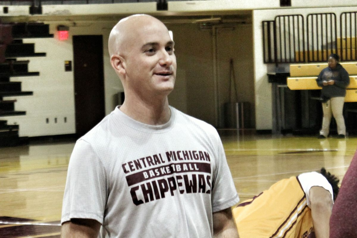 Ryan Mizner is a graduate assistant with the D1 Central Michigan Chippewas.