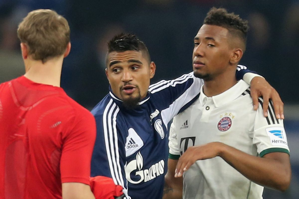 The family feud is over and the Boateng brothers are reunited at last.