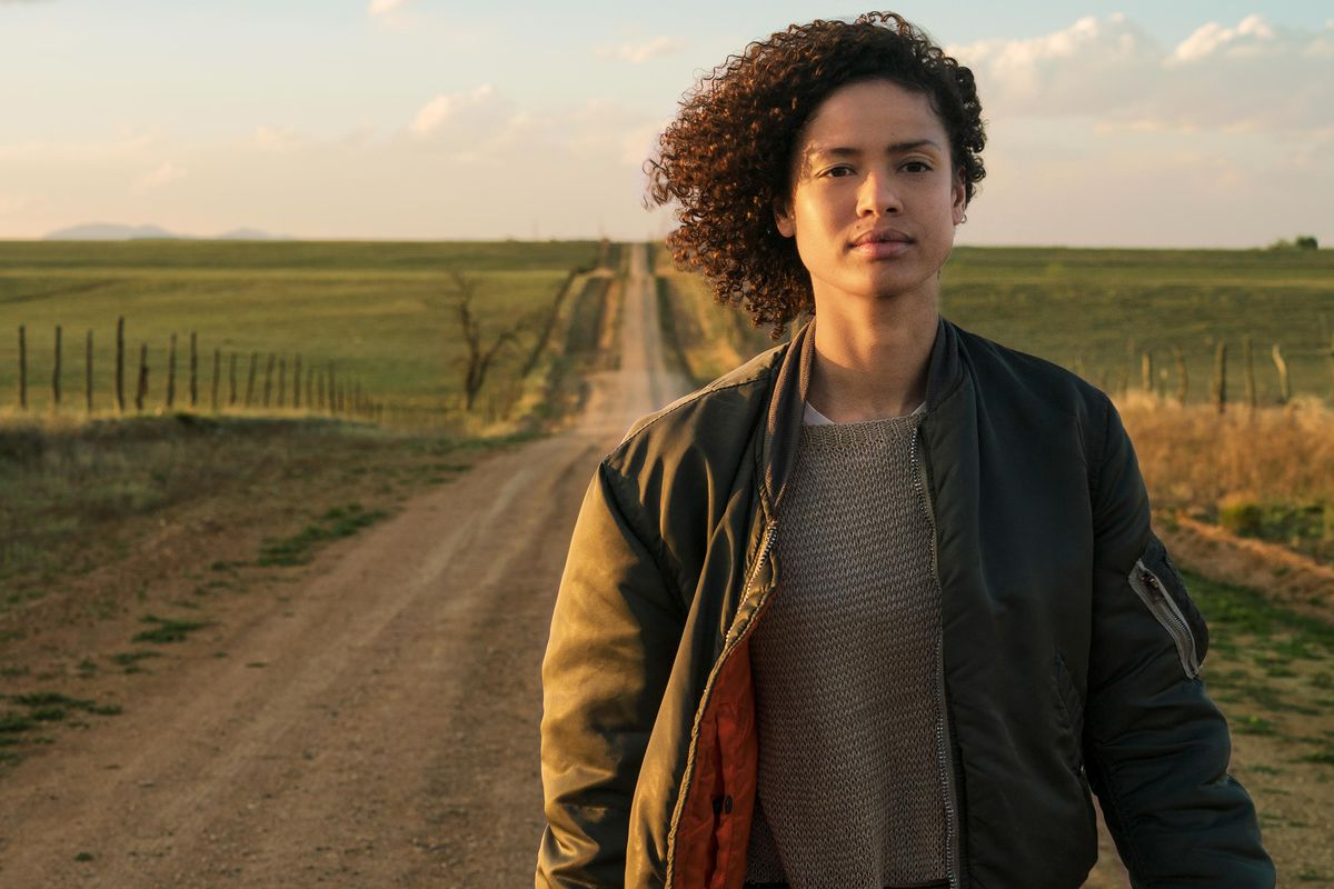 Gugu Mbatha-Raw as Ruth in Fast Color.