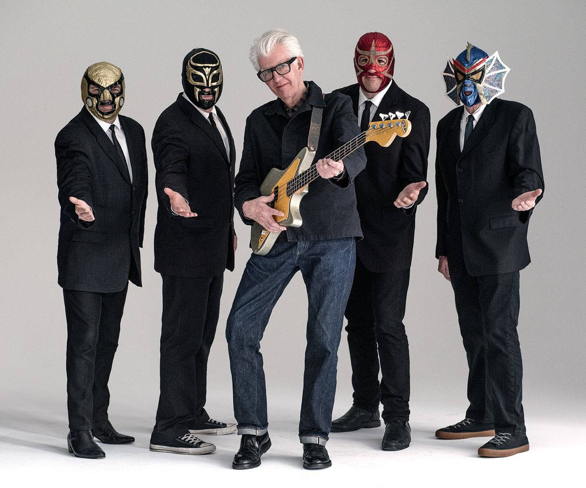 Nick Lowe with Los Straitjackets are among the headliners at the 2018 FitzGerald's American Music Festival. | Jim Harrington