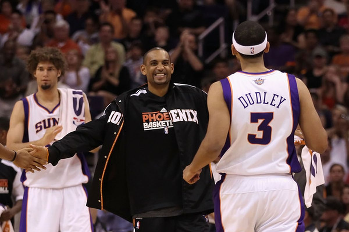 Welcome to the starting lineup, Dudley. Make us proud. (Photo by Christian Petersen/Getty Images)