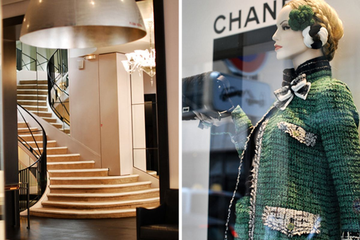 """Inside the Chanel Haute Couture fitting room in Paris.  Via <a href=""""http://seaofshoes.typepad.com/sea_of_shoes/2009/09/monday-at-chanel.html"""">Sea of Shoes</a>"""