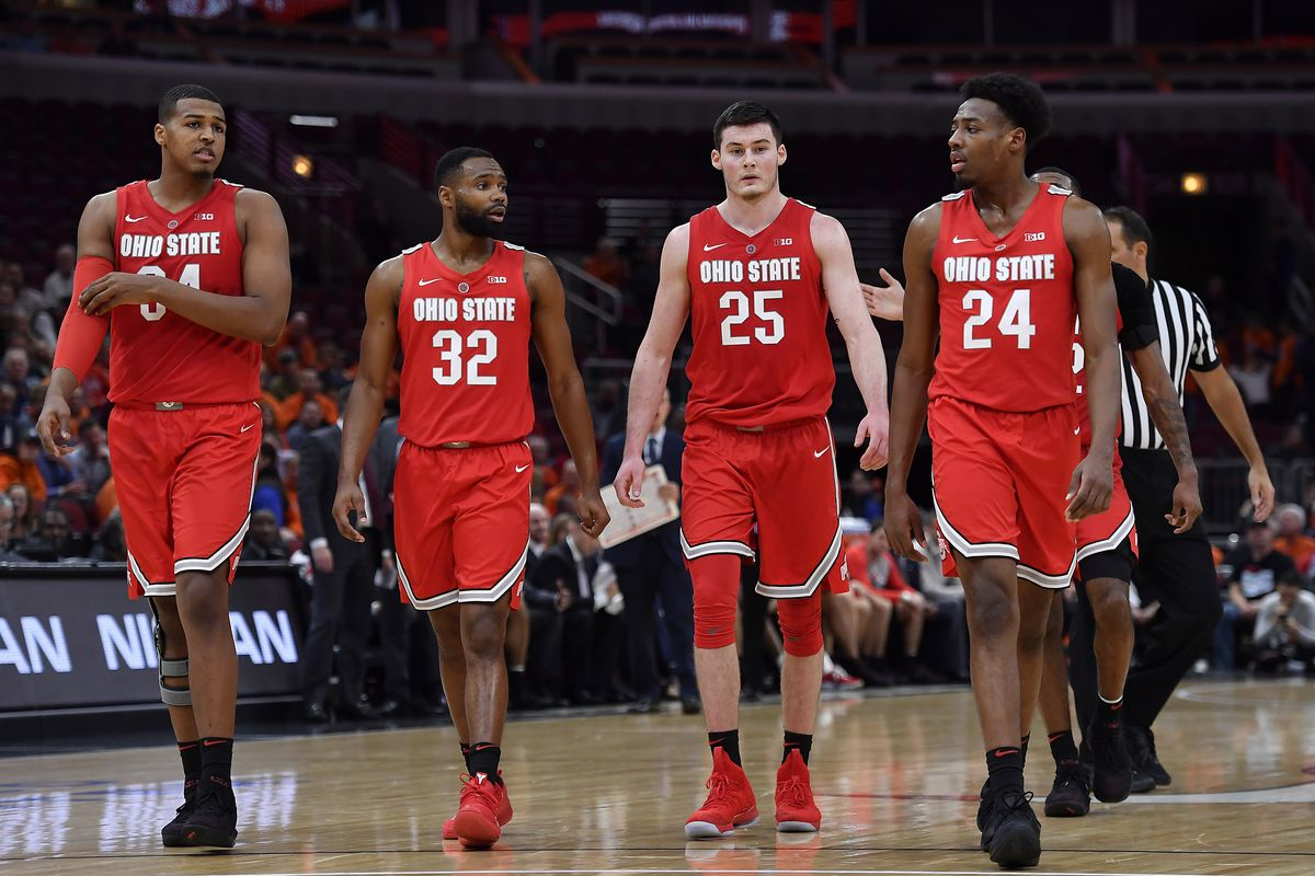 ohio state moves up to no. 15 in ap men's basketball poll - land