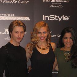 Project Accessory contestants James Sommerfeldt, Christina Caruso and Christina Cortes
