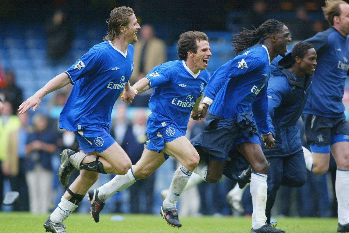 Zola and Petit celebrate win