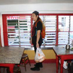 Upstairs at Sam Wo