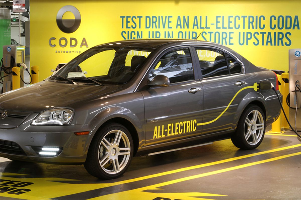 Electric Car Manufacturer Coda Files For Chapter 11 Bankruptcy