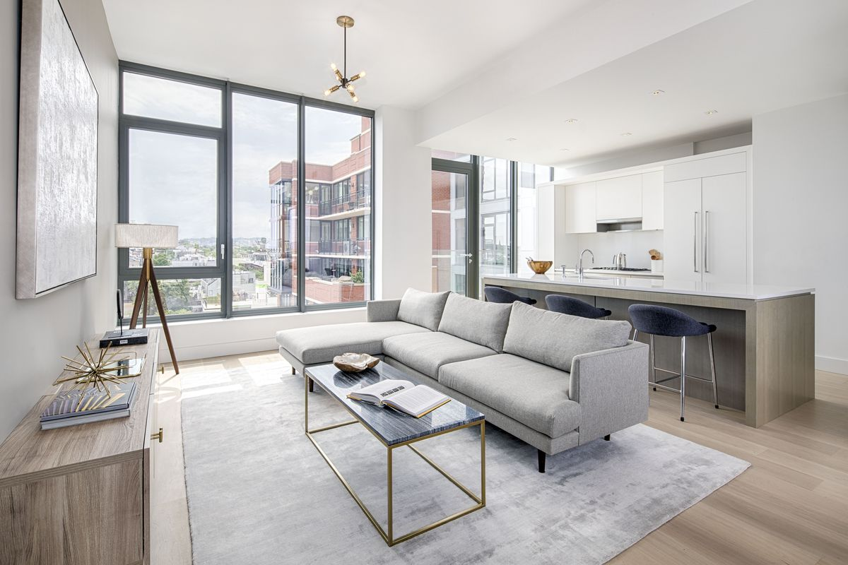 First look inside Park Slope's cascading box condo by ODA New York - Curbed NY