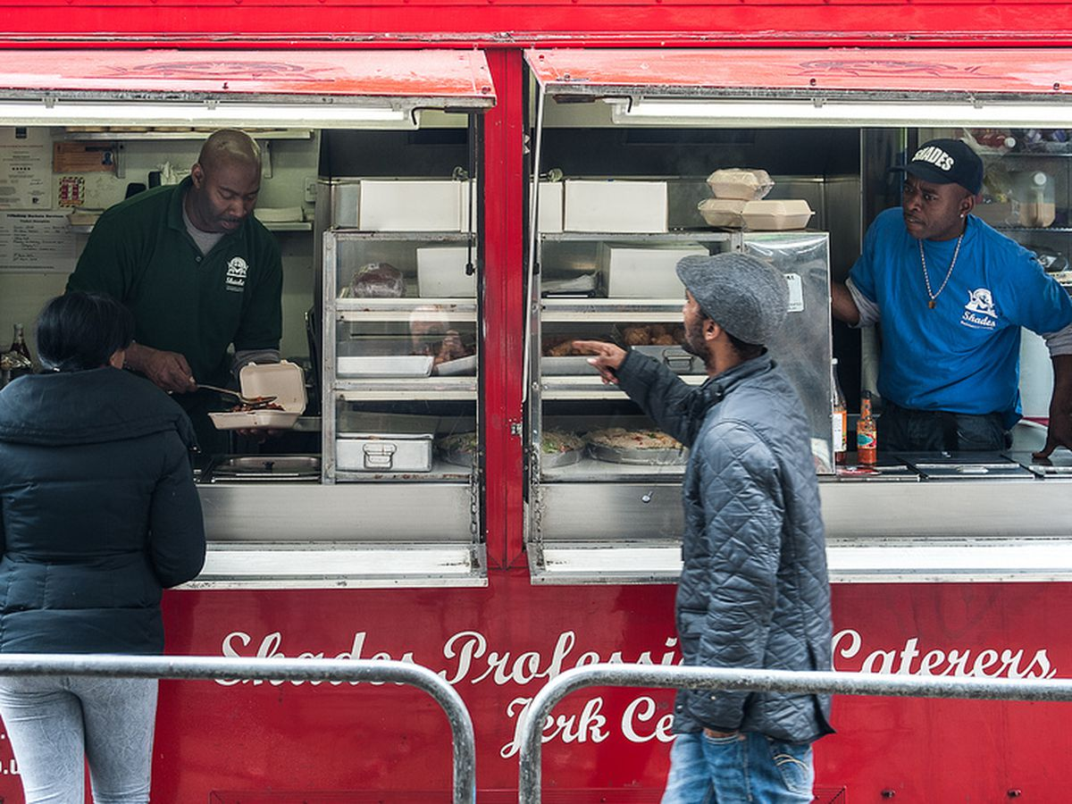 Best Caribbean street food in London: Shades Catering on Hoxton Street