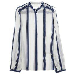 "<b>Chloé</b> Striped Silk-Chiffon Shirt, <a href=""http://www.net-a-porter.com/product/335413#"">$995</a> at Net-A-Porter"