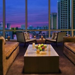 """For the cushiest mani/pedi experience, it's tough to beat a swanky hotel spa. May we suggest <a href=""""http://www.trumphotelcollection.com/chicago/chicago-spa-services.php"""">The Spa at Trump</a> [401 North Wabash Avenue]? Special services include the Crysta"""