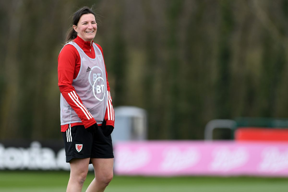 Wales Women Training Session
