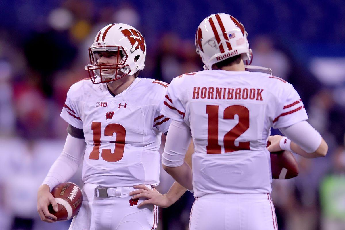 on sale 0853c 5fac7 Wisconsin football: Alex Hornibrook Badgers career recap ...