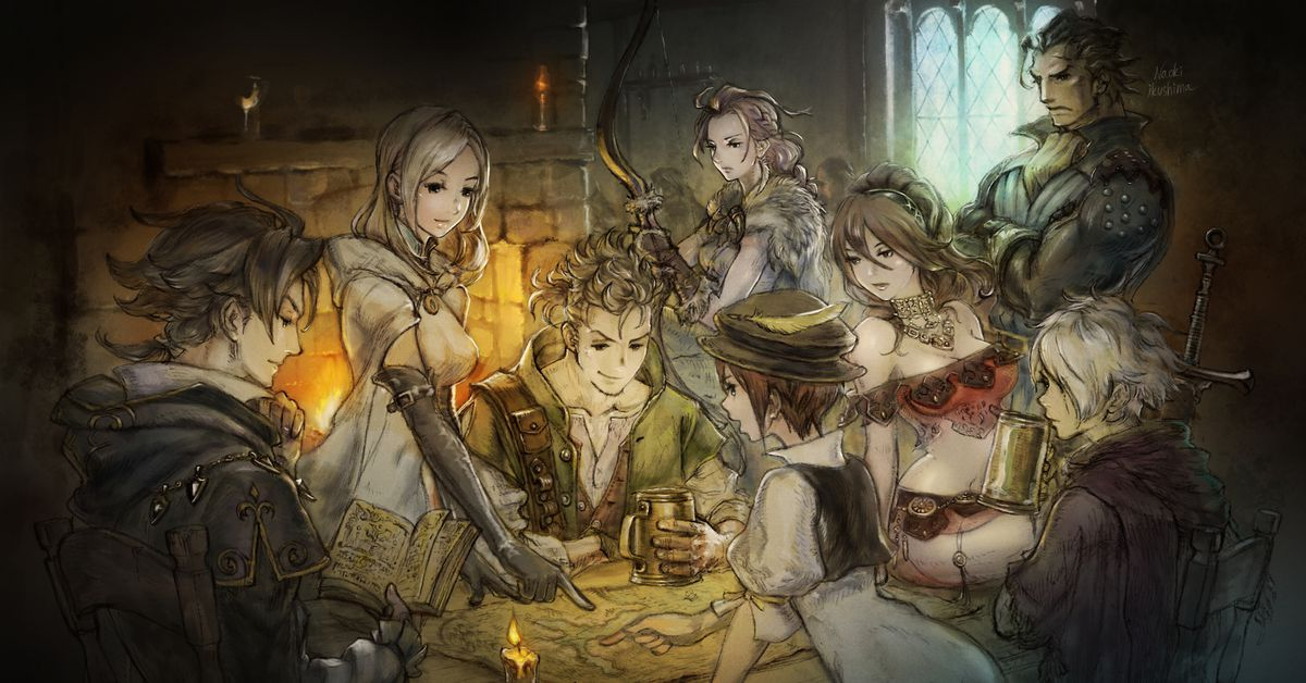 Octopath Traveler is the magical RPG the Nintendo Switch needed