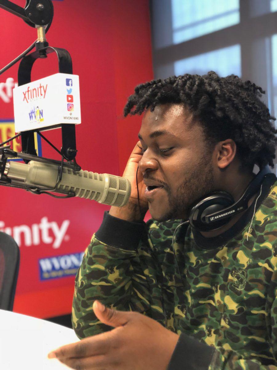 Alex King on a radio interview