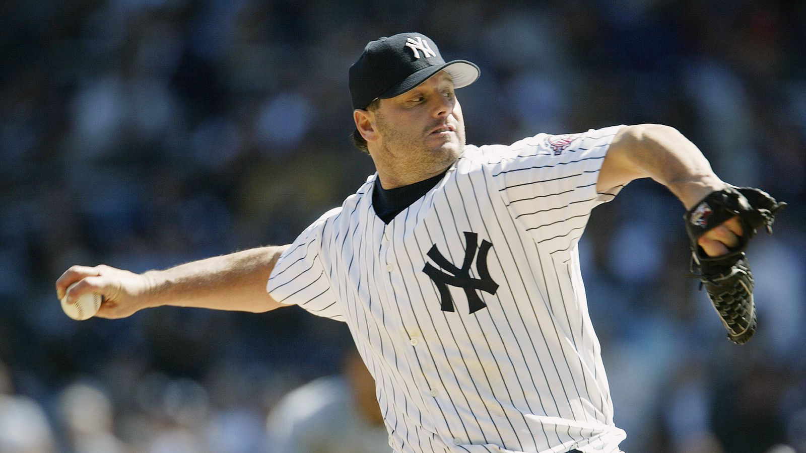 Roger clemens and young girl #10