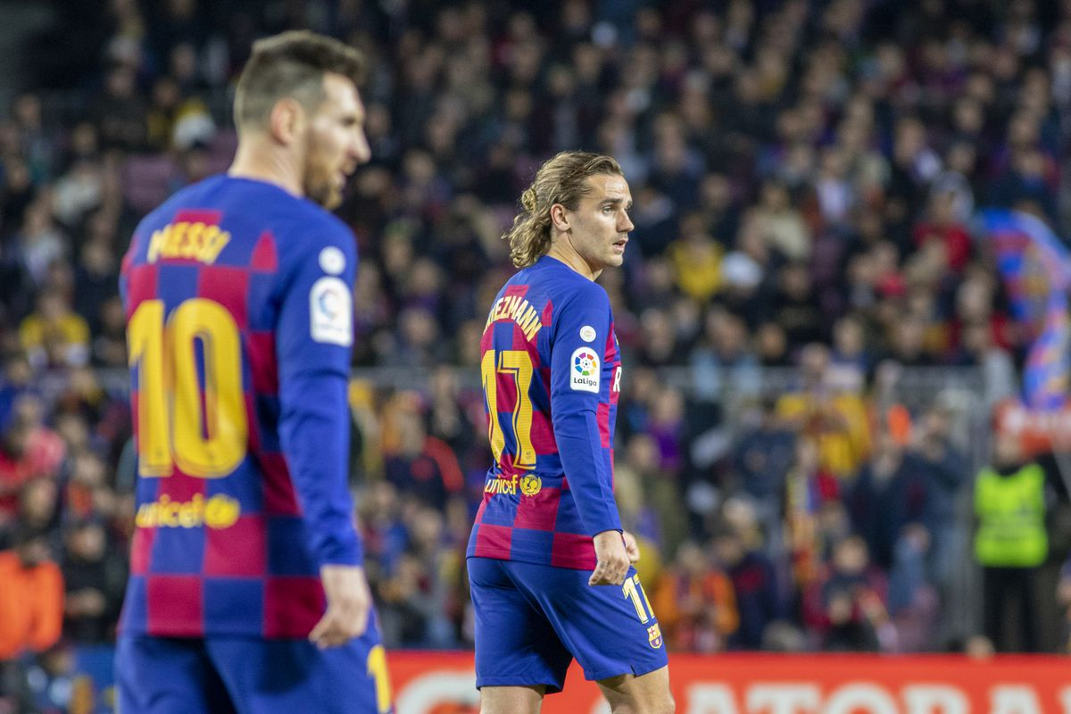 Antoine Griezmann's natural position doesn't exist at Barcelona