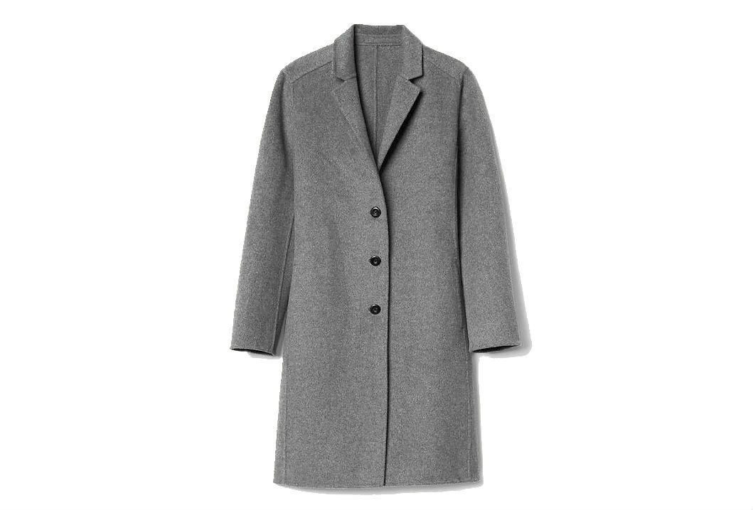 Gap gray wool coat