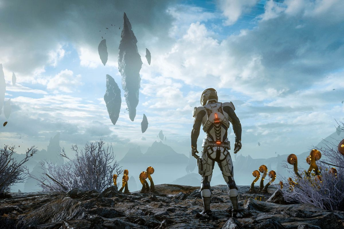 Mass Effect: Andromeda - rocky planet