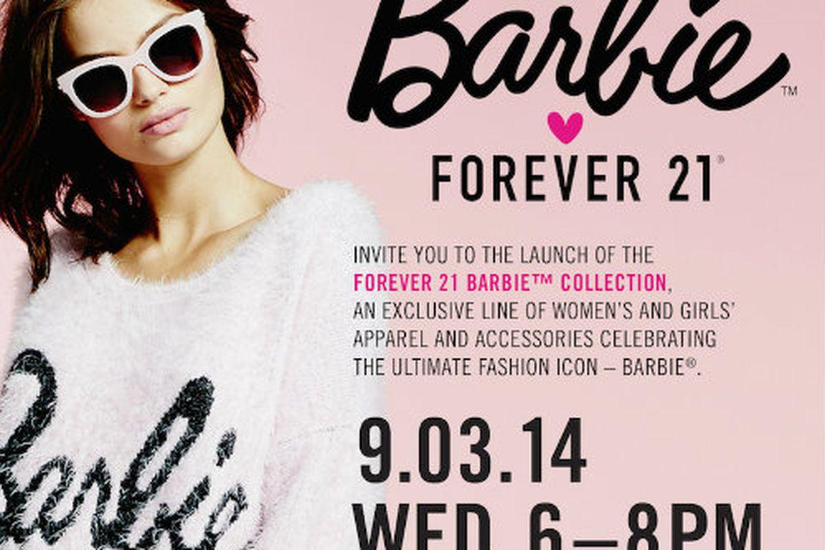 Flyer via Forever 21