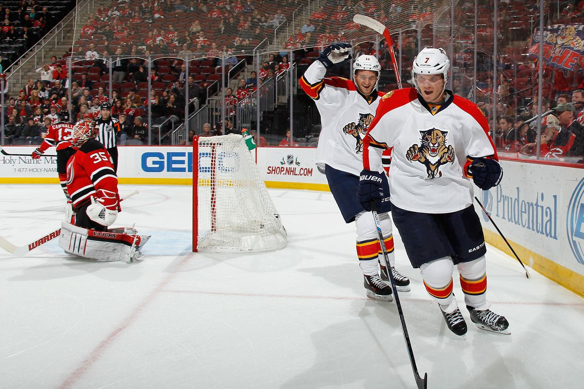 It did not get better after this goal by Kulikov.