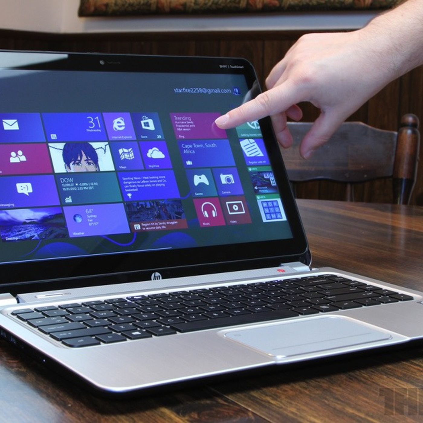 HP Envy TouchSmart Ultrabook 4 review - The Verge