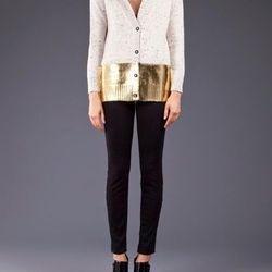 """A casual NYE doesn't have to be sartorially boring. Rachel Comey shawl-collar cardi, <a href=""""http://shopmcmullen.com/product/shawl-collar-cardi/#"""">$472</a> at McMullen in Piedmont"""