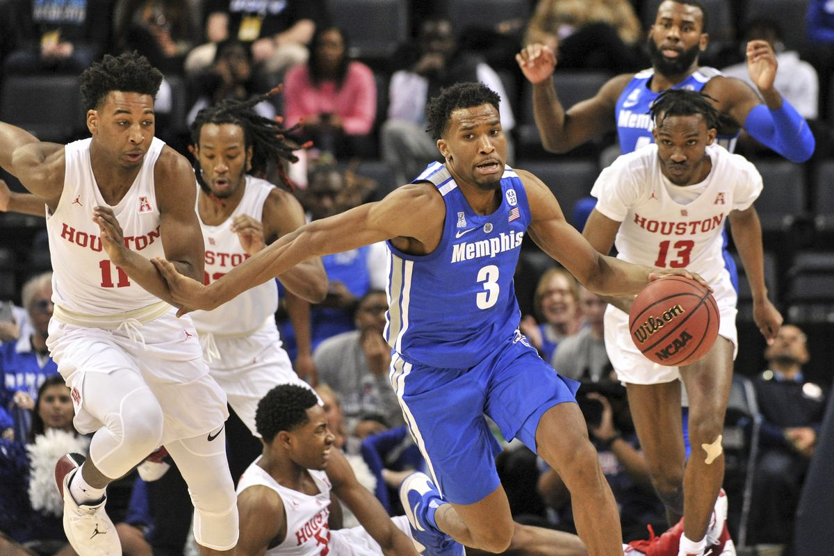 NCAA Basketball: American Athletic Conference Tournament-Memphis vs Houston