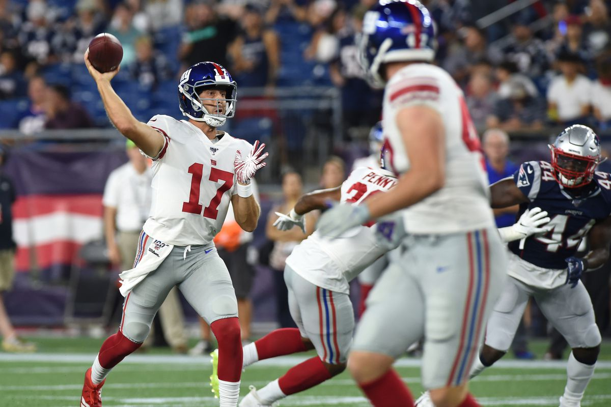 NFL: Preseason-New York Giants at New England Patriots