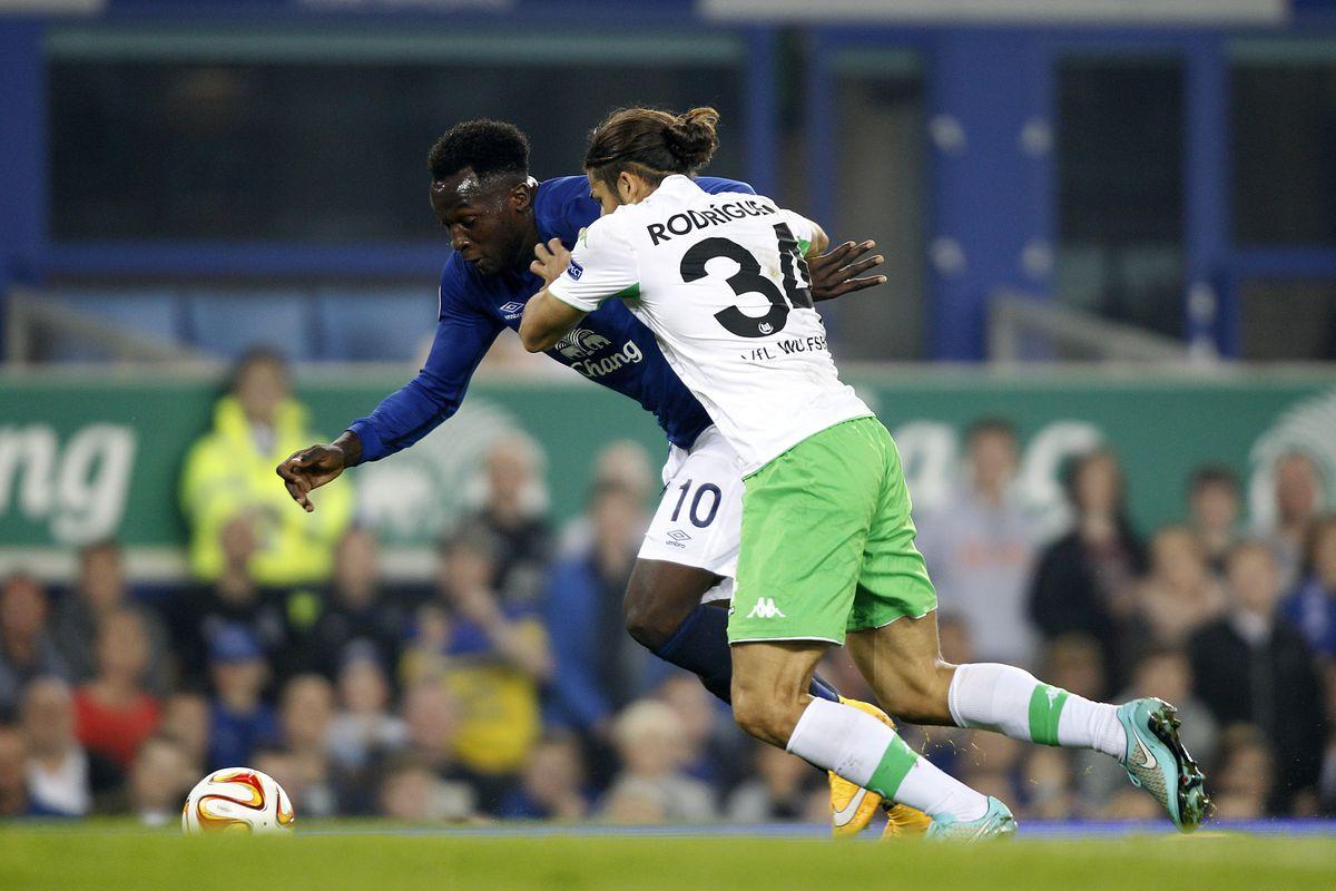 Soccer - UEFA Europa League - Group H - Everton v VfL Wolfsburg - Goodison Park