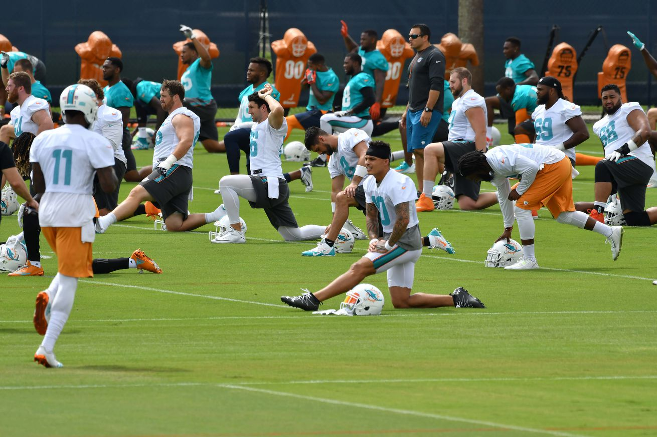Miami Dolphis training camp battles to watch