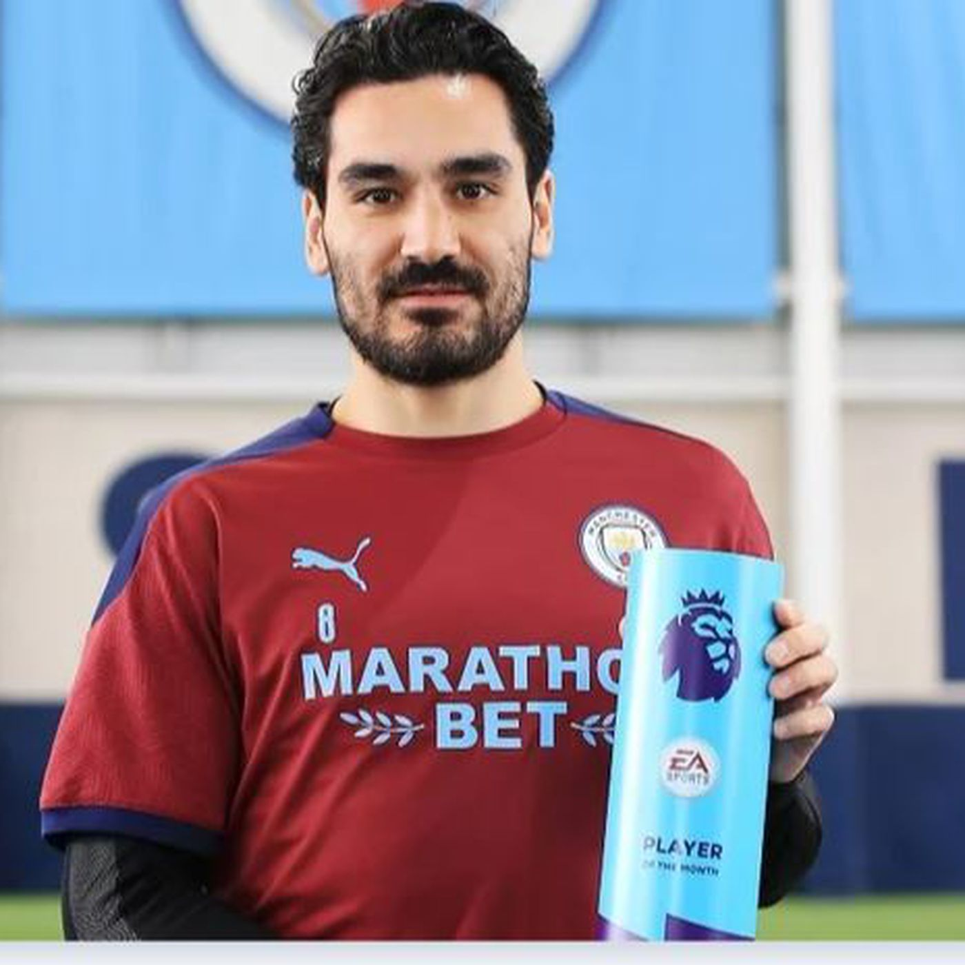 Ilkay Gundogan Wins Second Player of the Month Award - Bitter and Blue