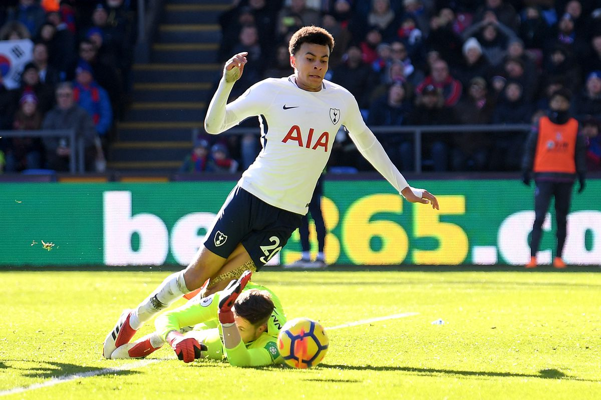 Dele Alli doesn't dive, except for all the times that he does ... Dele Alli on