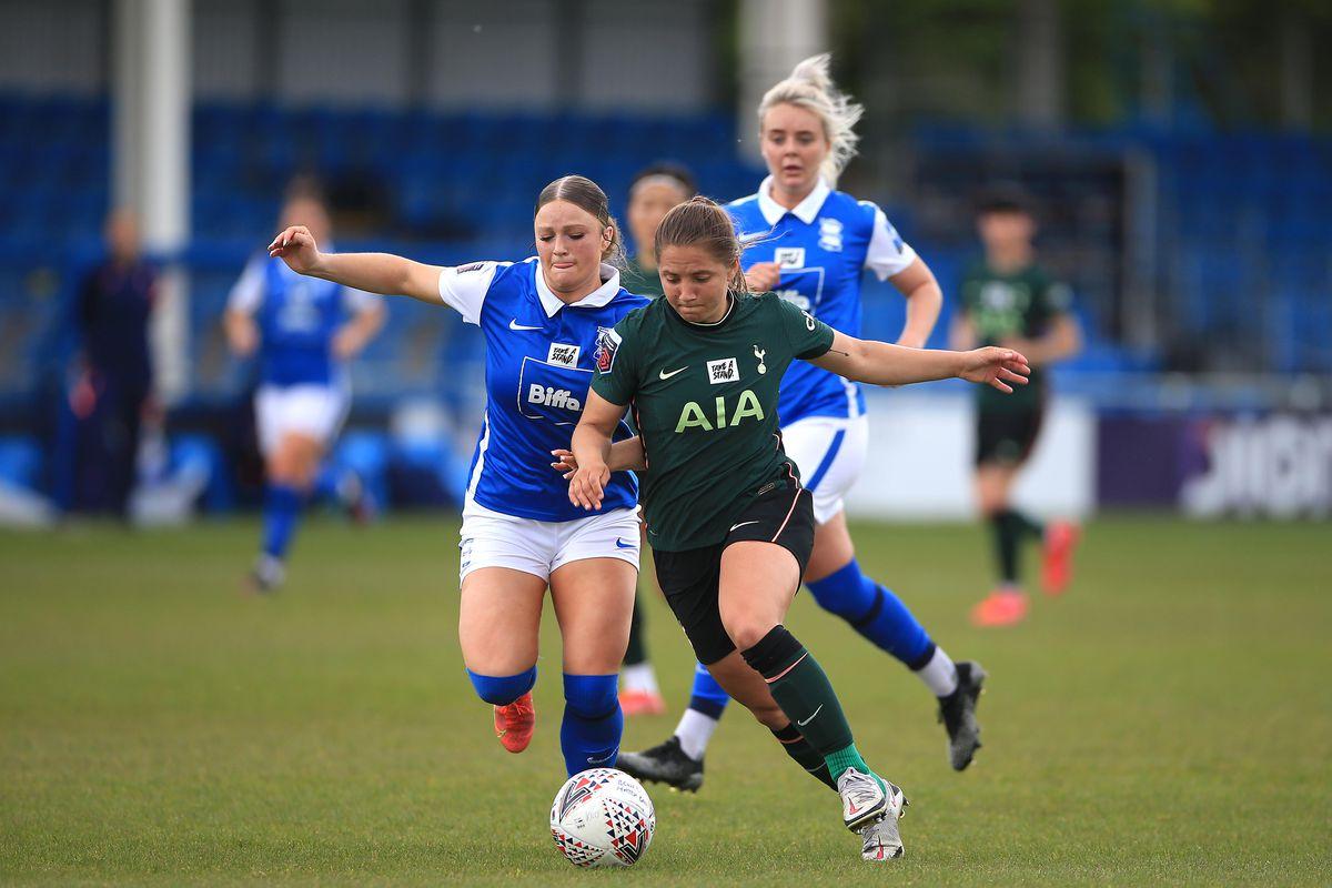 Birmingham City Women v Tottenham Hotspur Women - Barclays FA Women's Super League