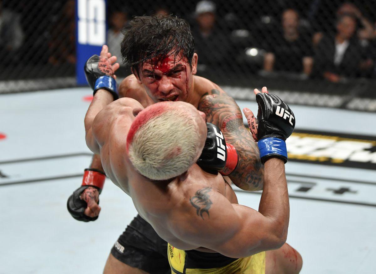 UFC 240: Pantoja v Figueiredo