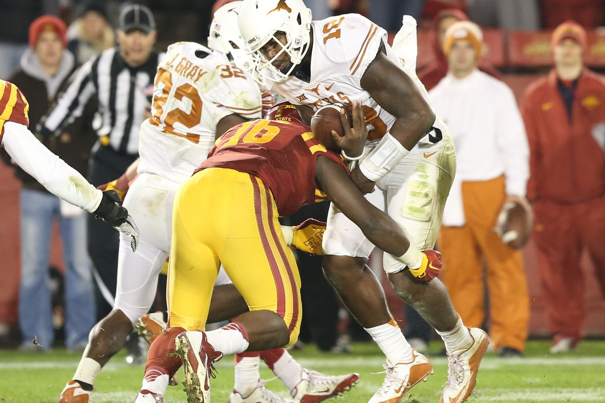 Shooting From the Hip: Iowa State 24, Texas 0 - Barking Carnival