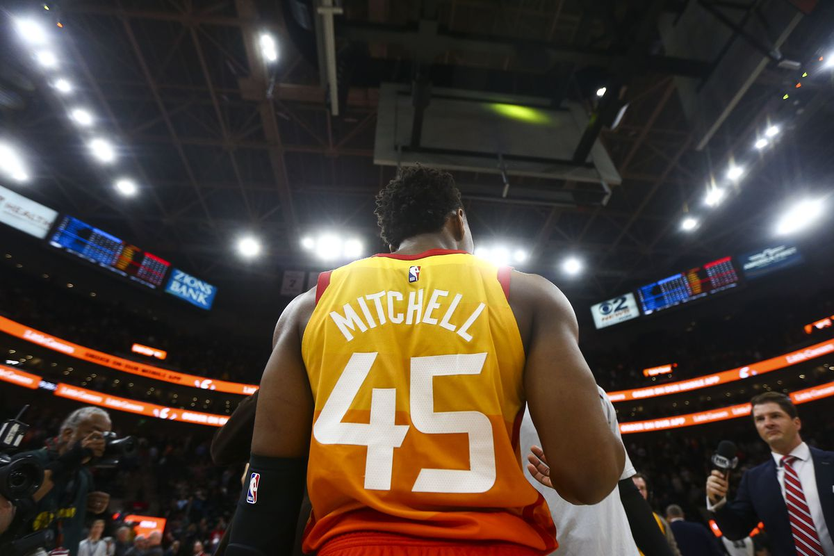 wholesale dealer ef006 289db Inside Utah Jazz guard Donovan Mitchell's red-hot January ...