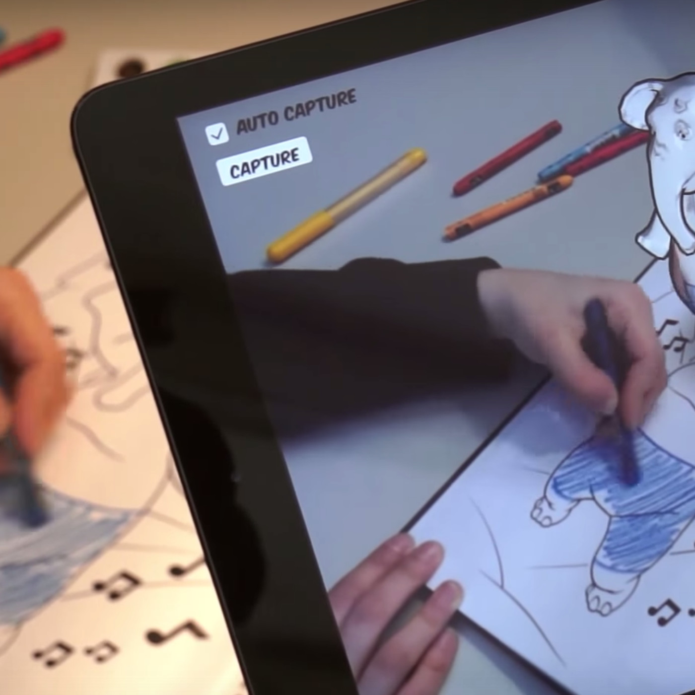 Disney Is Using Augmented Reality To Bring Coloring Books Life The Verge