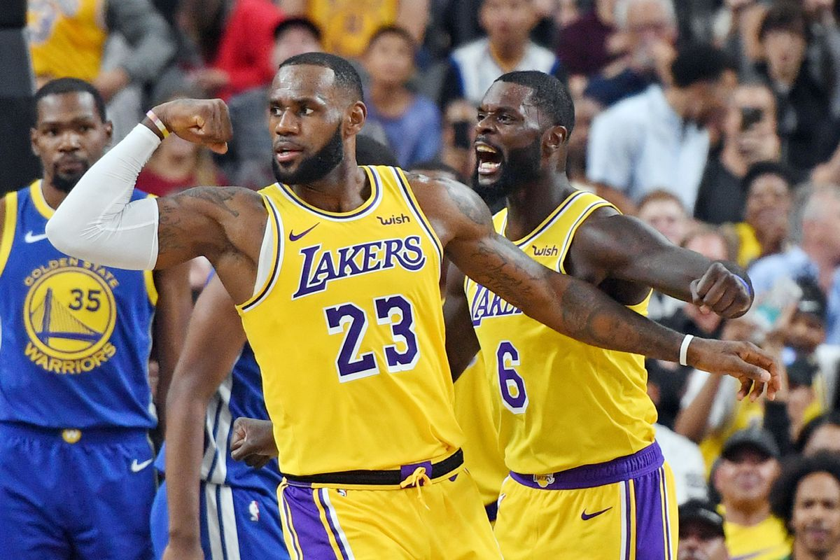 wholesale dealer 80a9e 49f83 NBA news: LeBron James to rest for Warriors vs. Lakers ...