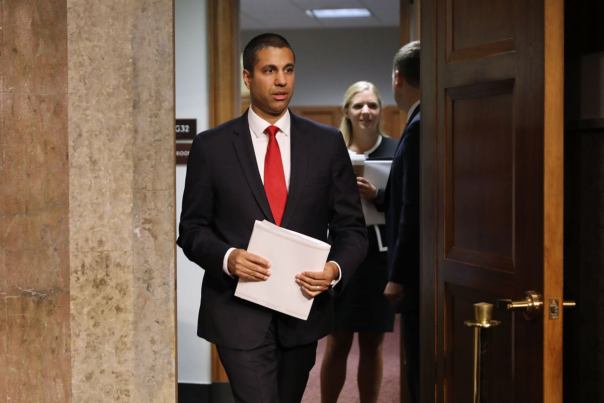 Senate Holds Confirmation Hearing For Ajit Pai To Remain Head Of FCC