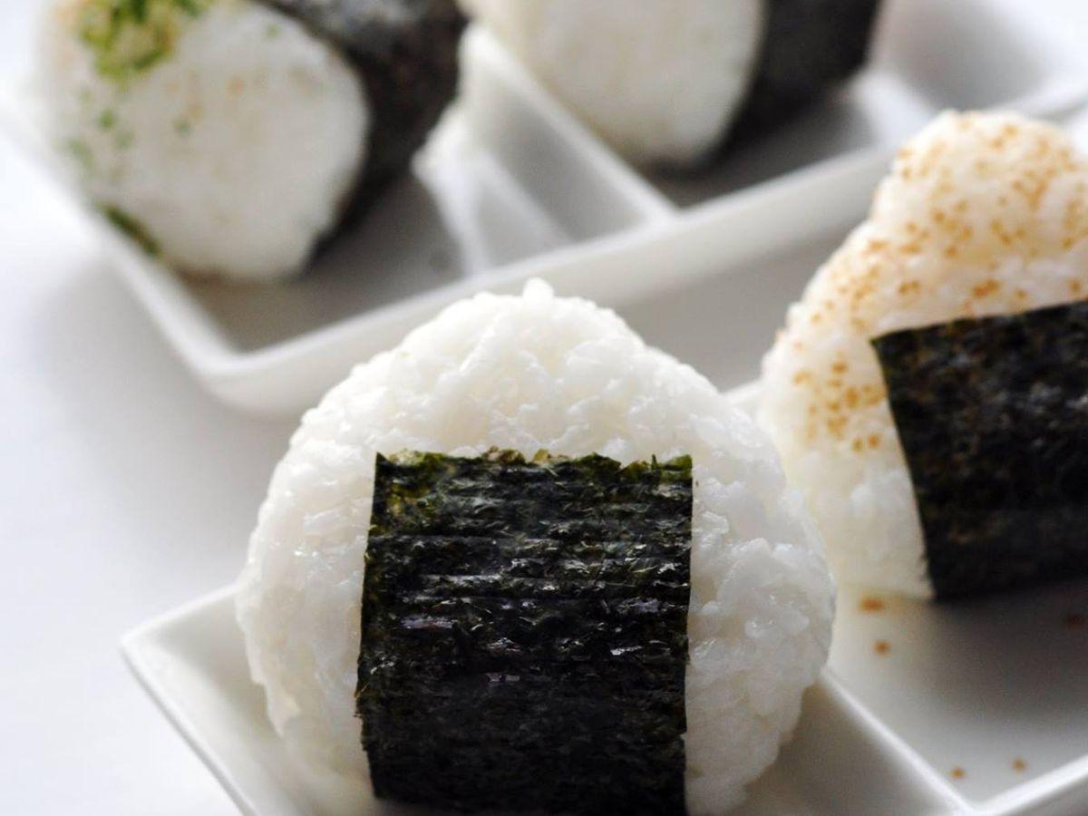 Two types of onigiri