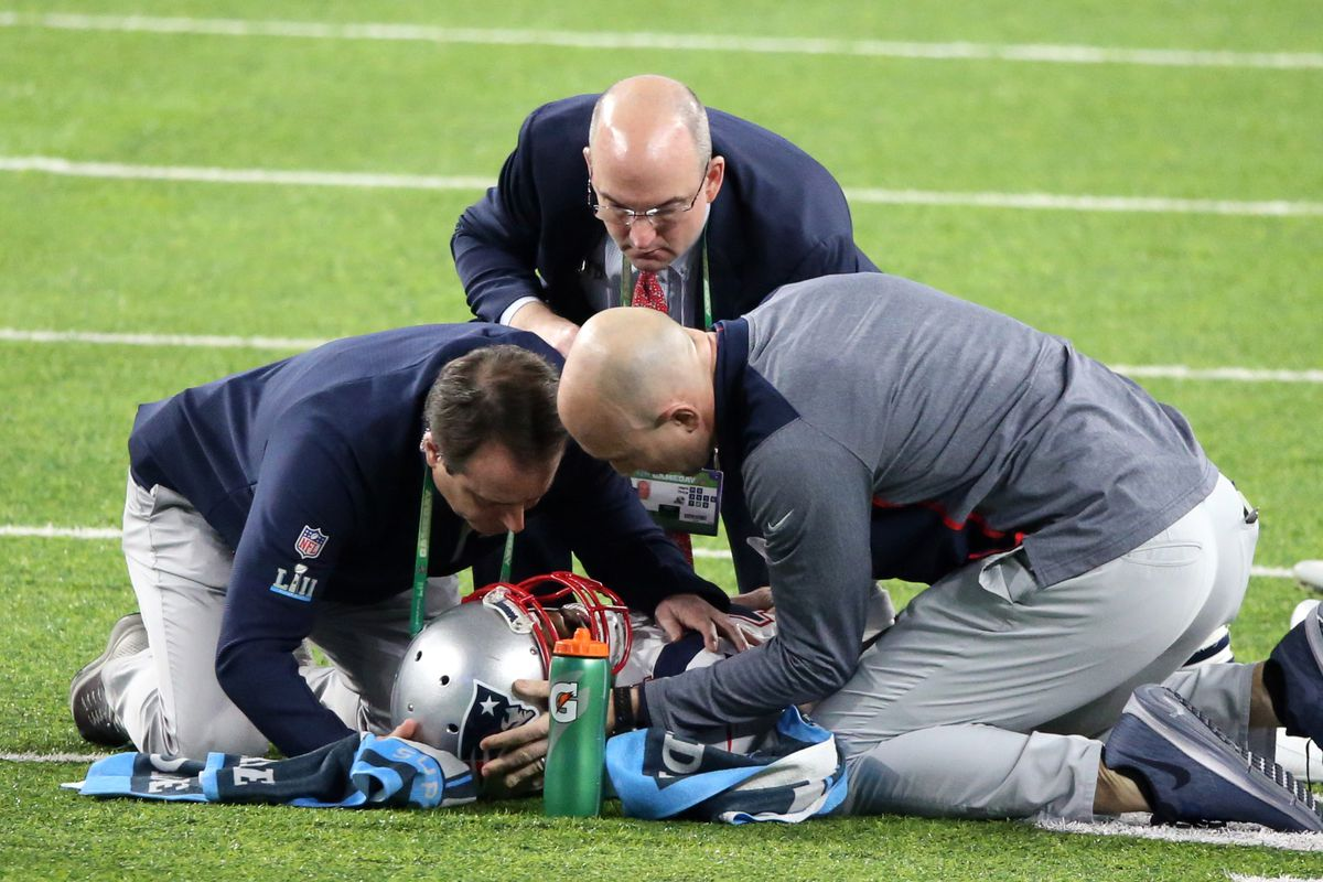 low priced bf83b 442f8 Brandin Cooks injury updates: Patriots WR out for Super Bowl ...