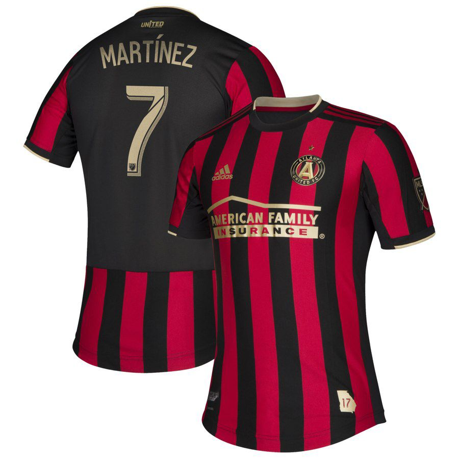 76c64603f3b Atlanta United FC Josef Martinez 2019 Authentic Player Jersey for $149.99  MLSStore.com