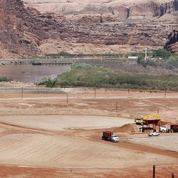 Some 200 employees — two-thirds of the workforce — will be laid off at the uranium mill tailings site in Moab in July.