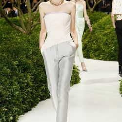 The wedding pantsuit, reimagined. Maybe now it'll catch on. By Dior.
