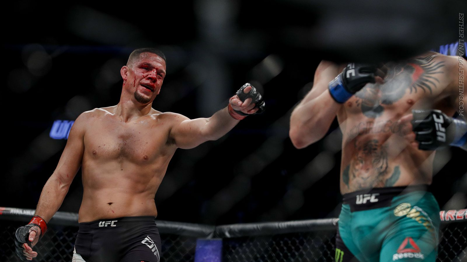Nate Diaz doesn't think he lost to Conor McGregor: 'He did a lot of running away'