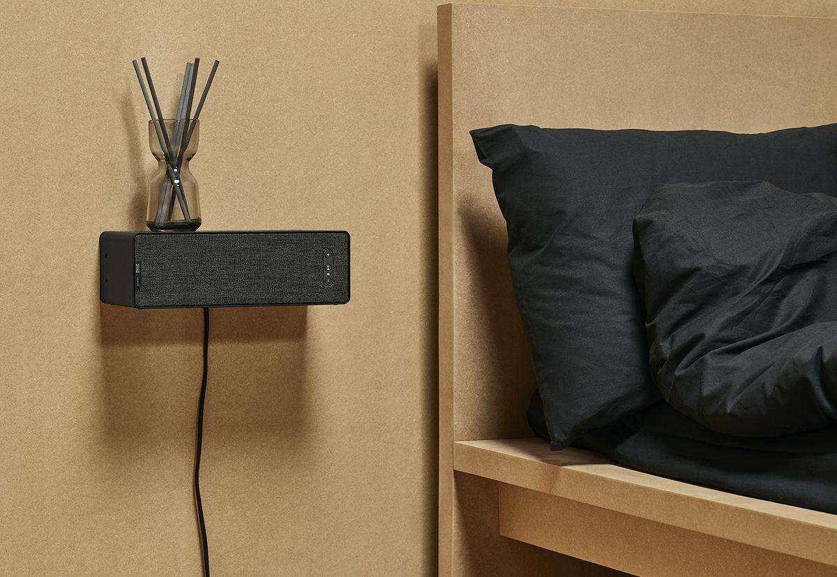 Speaker acting like a shelf